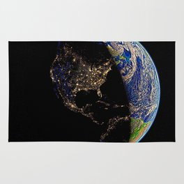 USA, light of the world Rug