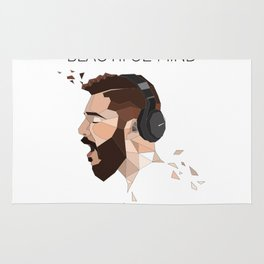 jon bellion Rug