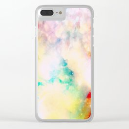 Fume Color Splash 03 Clear iPhone Case