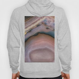 Pink and Blue agate 0425 Hoody