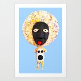 LEZA Art Print