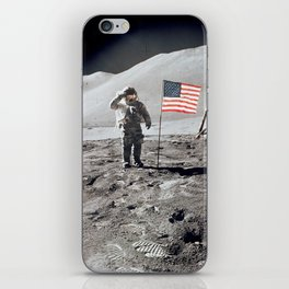 Apollo 15 - Military Salute iPhone Skin