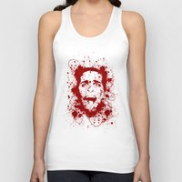 scary Tank Tops featuring American Psycho by David
