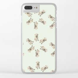 Oodles of Labradoodles Clear iPhone Case