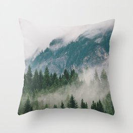 Vancouver Fog Throw Pillow