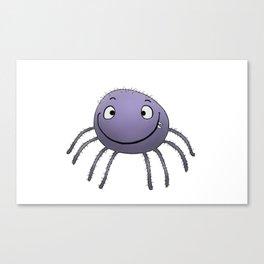 Spider Smile Canvas Print