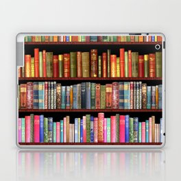 Antique books ft Jane Austen & more Laptop & iPad Skin