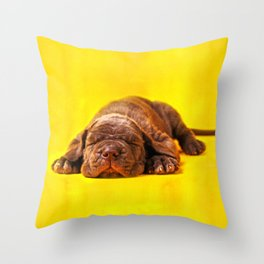 Cane Corso - Italian Mastiff Puppy Throw Pillow