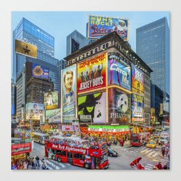 Times Square III Special Edition I Canvas Print