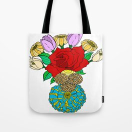 Center of the World Tote Bag