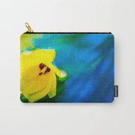 Sunny Hibiscus Carry-All Pouch
