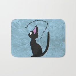 Jiji the Cat Bath Mat