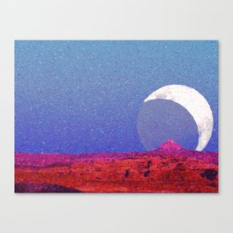 Cathedral of the Moon Canvas Print