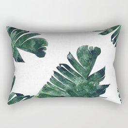 Banana Leaf Watercolor #society6 #buy #decor Rectangular Pillow