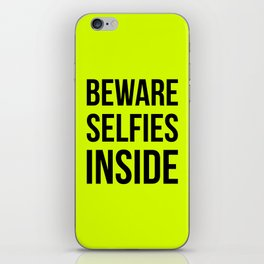 Selfies inside iPhone Skin