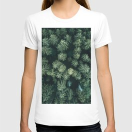 Forest from above - Landscape Photography T-shirt