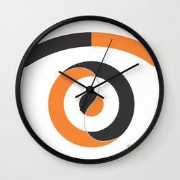 yin yang eye Wall Clock
