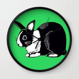 Dutch Rabbit Wall Clock