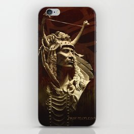 First peoples Power iPhone Skin
