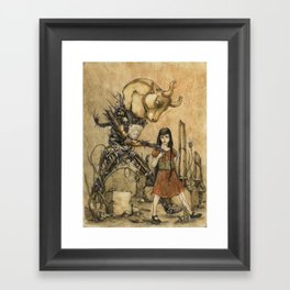 Minotaur Framed Art Print