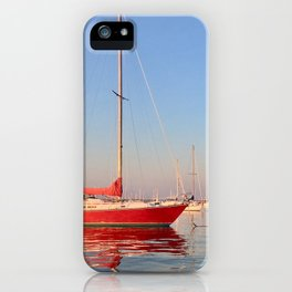 Red, Right, Return. iPhone Case