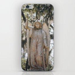 Bonaventure Cemetery Angel iPhone Skin