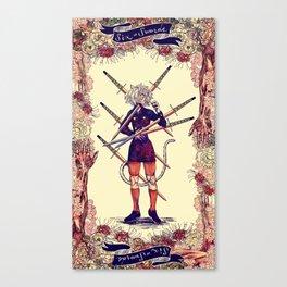Hunter x Hunter Tarot: Six of Swords Canvas Print