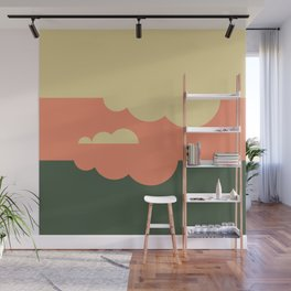 Pantone Colors Autumn Sky Wall Mural