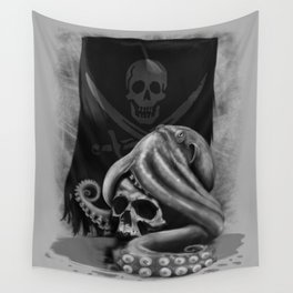 Pirate Tentacle Wall Tapestry