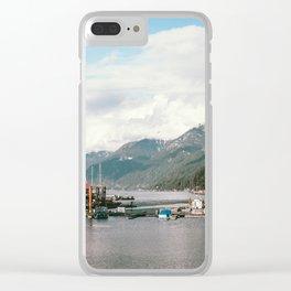 Horseshoe Bay Clear iPhone Case