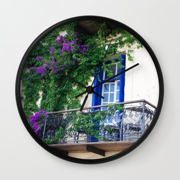 Chania Old Town View Wall Clock