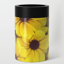 The yellow flowers Can Cooler