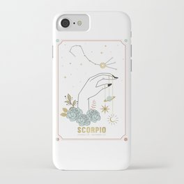 Scorpio Zodiac Series iPhone Case