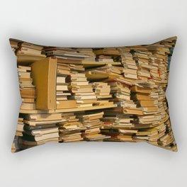 Books, books, books | Buecher, Buecher, Buecher Rectangular Pillow