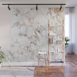 White Onyx Marble Wall Mural