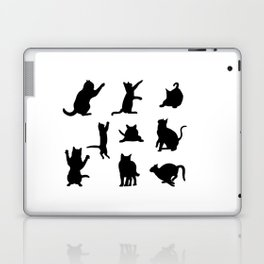 Cat Silhouette Laptop & iPad Skin