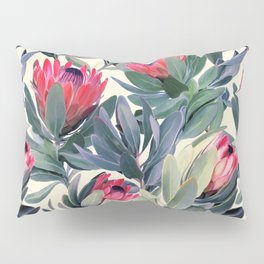 Painted Protea Pattern Pillow Sham