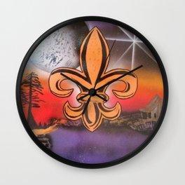 Cajun Dog Wall Clock