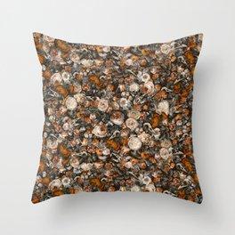 Baroque Macabre Throw Pillow