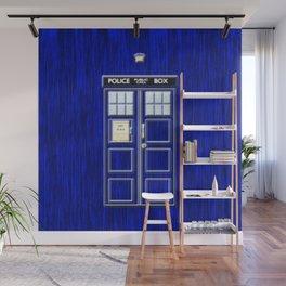 Tardis Art Blue Phone Both Wall Mural