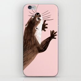 Otters : Asian small-clawed otter iPhone Skin
