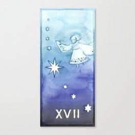 Tarot 17: The Star Canvas Print