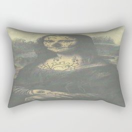 Mona Crack Rectangular Pillow