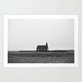 little church Art Print