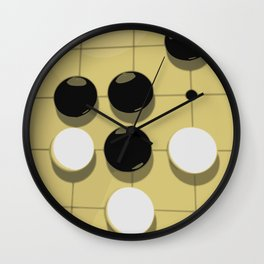 Go Game Wall Clock