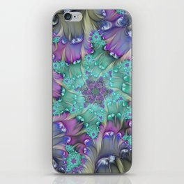 Find Yourself, Abstract Fractal Art iPhone Skin