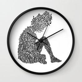 Growing On Me Wall Clock