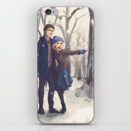 Snowy Day iPhone Skin