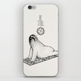 Sloth Be Still iPhone Skin