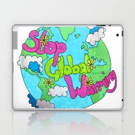 Stop Global Warming Laptop & iPad Skin